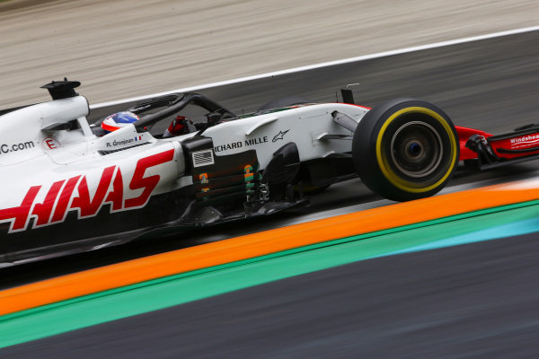 Romain Grosjean, Haas F1 Team VF-18 Ferrari.