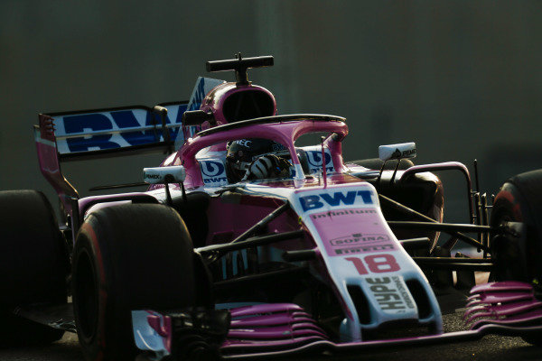Lance Stroll, Racing Point Force India VJM11.