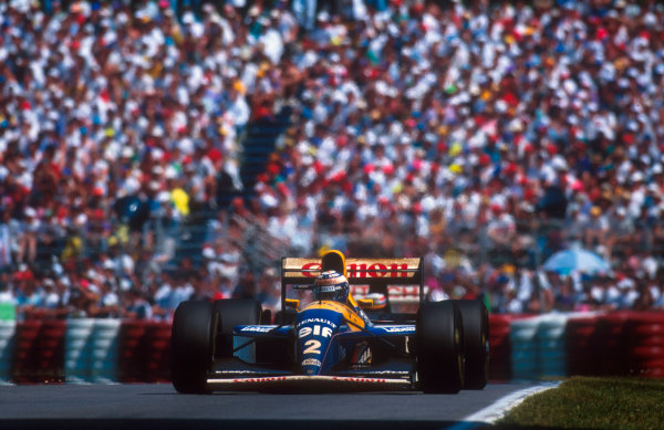 1993 Canadian Grand Prix.Montreal, Canada.11-13 June 1993.Alain Prost (Williams FW15C Renault) 1st position.Ref-93 CAN 06.World Copyright - LAT Photographic