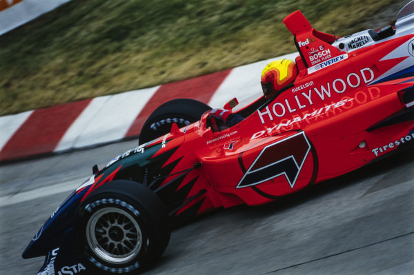 Maurício Gugelmin, PacWest Racing Group, Reynard 98i Mercedes.