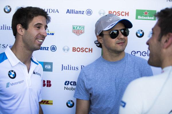 Felipe Massa (BRA), Venturi Formula E, and Antonio Felix da Costa (PRT), BMW I Andretti Motorsports