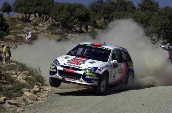 2001 World Rally ChampionshipCyprus Rally June 1-3, 2001Colin McRae on Stage 5Photo: Ralph Hardwick/LAT