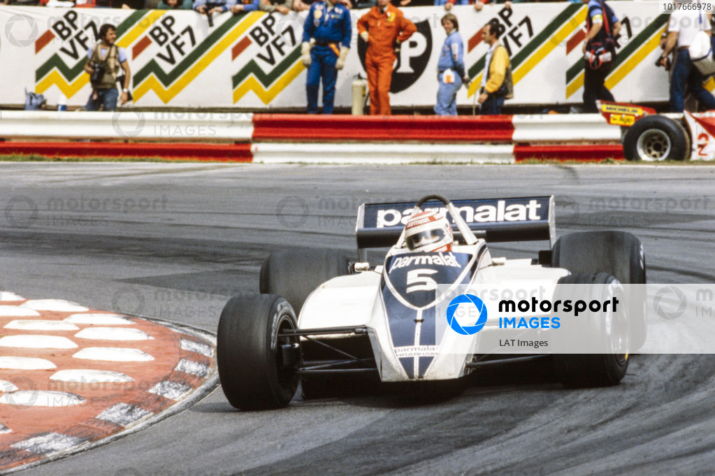 Nelson Piquet, Brabham BT49 Ford.