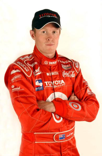 2003 IRL Test in the West.California Speedway, Fontana, California, USA.3-4 February 2003. Scott Dixon (Chip Ganassi Racing).World Copyright - Walt Kuhn/LAT Photographic