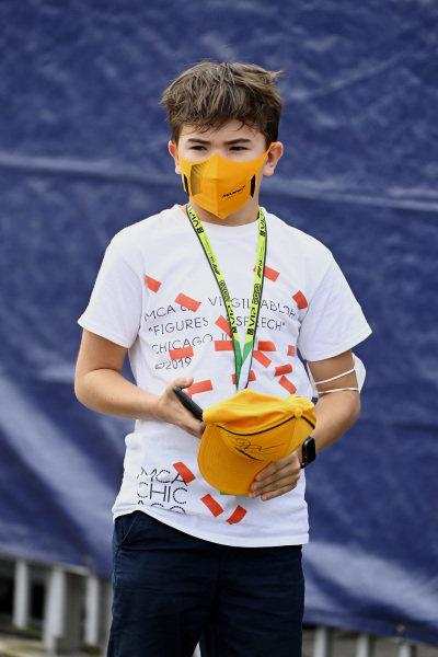 Emerson Fanucchi Fittipaldi, son of Emerson Fittipaldi
