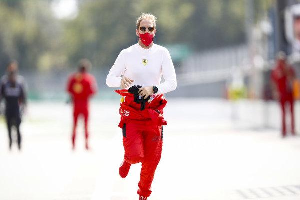 Sebastian Vettel, Ferrari runs