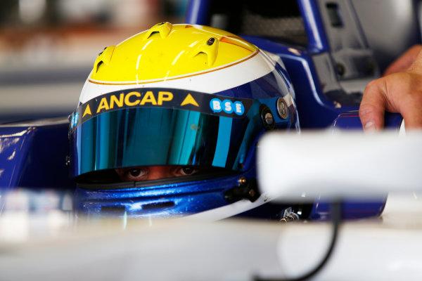 2014 GP3 Series Test 2. Jerez, Spain  Friday 11 April 2014. Santiago Urrutia (URU, Koiranen GP)  Photo: Sam Bloxham/GP3 Series Media Service. ref: Digital Image _SBL1543