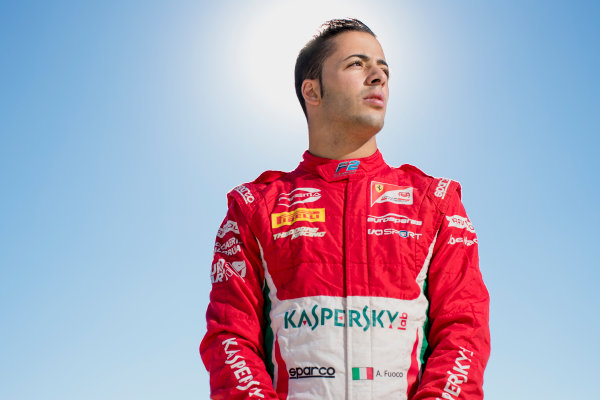 2017 FIA Formula 2 Round 10. Circuito de Jerez, Jerez, Spain. Thursday 5 October 2017. Antonio Fuoco (ITA, PREMA Racing).  Photo: Zak Mauger/FIA Formula 2. ref: Digital Image _56I3854