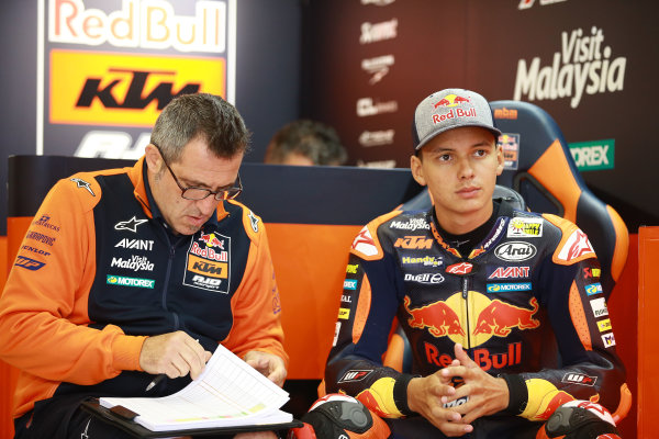 2017 Moto3 Championship - Round 11 Spielberg, Austria Friday 11 August 2017 Bo Bendsneyder, Red Bull KTM Ajo World Copyright: Gold and Goose / LAT Images ref: Digital Image 685552