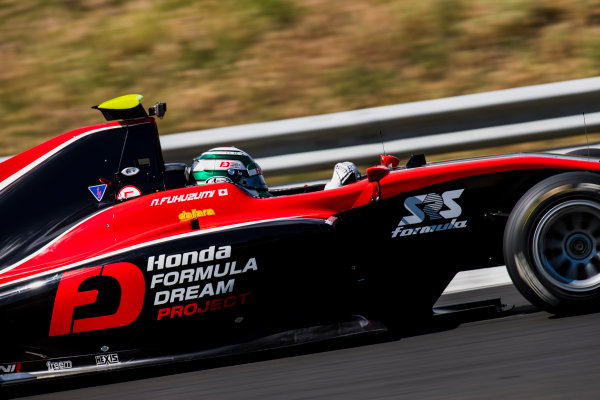 2017 GP3 Series Test 4.  Hungaroring, Budapest, Hungary. Wednesday 7 June 2017. Nirei Fukuzumi (JPN, ART Grand Prix)  Photo: Zak Mauger/GP3 Series Media Service. ref: Digital Image _56I2248