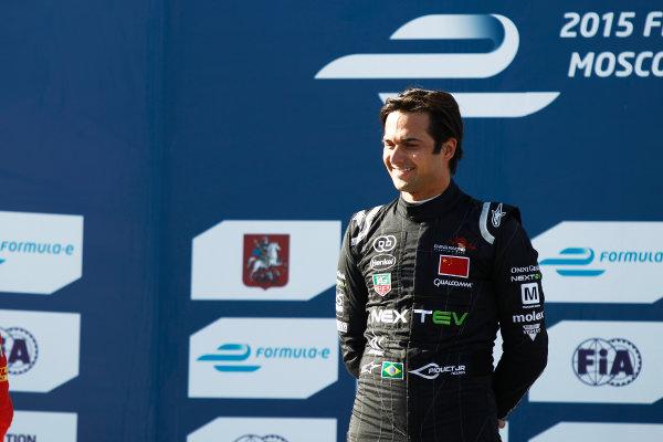 2014/2015 FIA Formula E Championship.  Moscow e-Prix, Moscow, Russia. Saturday 6 June 2015. Nelson Piquet Jr (BRA)/China Racing - Spark-Renault SRT_01E  Photo: Sam Bloxham/LAT/Formula E ref: Digital Image _G7C4760
