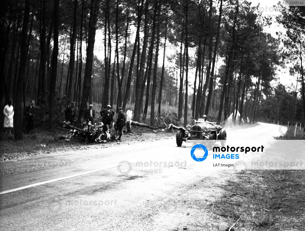 Le Mans, France. 17-18 June 1933.Tazio Nuvolari/Raymond Sommer (Alfa Romeo 8C), 1st position.World Copyright: LAT Photographicref: C861