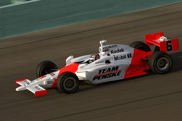 Sam Hornish Jr. (USA), Team Penske Dallara Honda.
