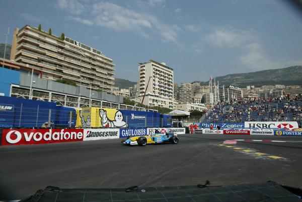 2003 Monaco Grand Prix - Thursday 1st Qualifying,2003 Monaco Grand Prix Monaco. 29th May 2003 World Copyright: Steve Etherington/LAT Photographic ref: Digital Image Only