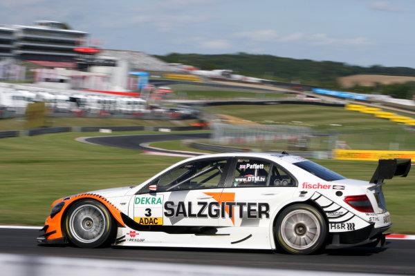 Gary Paffett (GBR), Salzgitter AMG Mercedes, Salzgitter AMG Mercedes C-Klasse (2009).DTM, Rd7, Brands Hatch, England, 3-5 September 2010.World Copyright: LAT Photographicref: dne1004se87
