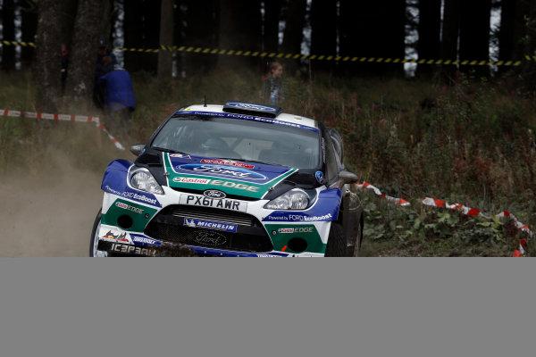 Round 10- Wales Rally GB 12-16/9- 2012.Jari-Matti Latvala, Ford WRC, Action.Worldwide Copyright: McKlein/LAT