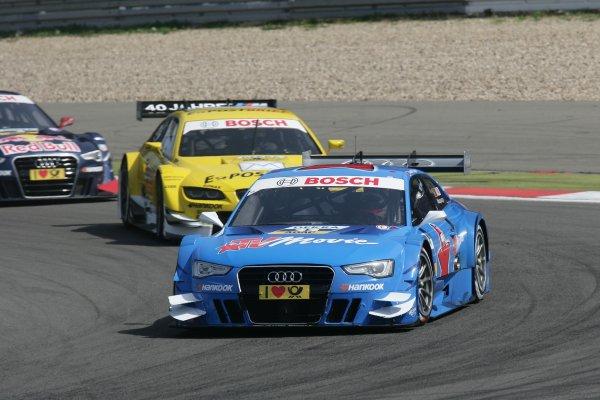 Round 6 - Nurburgring, Germany.17th August - 19th August 2012.Filipe Albuquerque (POR), Audi Sport Team Rosberg, Audi A5 DTMWorld Copyright: XPB Images/LAT PhotographicRef:  2314694_HiRes