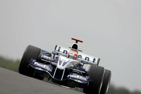 Antonio Pizzonia (BRA) Williams BMW FW27.Formula One Testing, Day 3, Silverstone, England, 28 April 2005.DIGITAL IMAGE