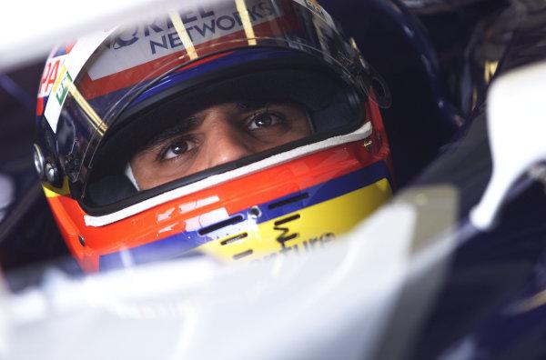 2001 San Marino Grand Prix.Imola, Italy. 13-15 April 2001.Juan-Pablo Montoya (Williams FW23 BMW).World Copyright - Steve Etherington/LAT Photographicref: 17 5 mb digital image.