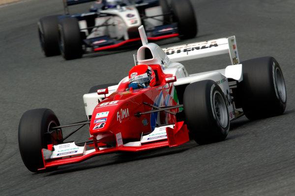 2002 Formula Nippon ChampionshipMine, Japan. 19th May 2002.Richard Lyons (DoCoMo Dandelion), action.World Copyright: Yasushi Ishihara/LAT Photographicref: Digital Image Only