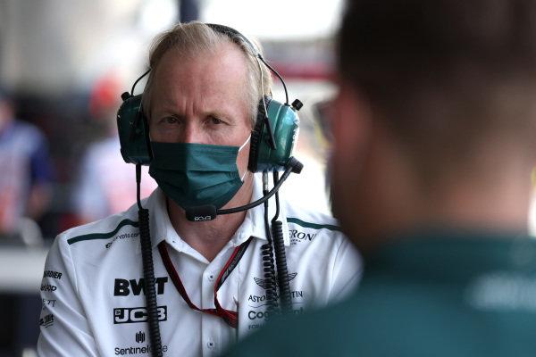 Andrew Green, Technical Driector, Aston Martin F1