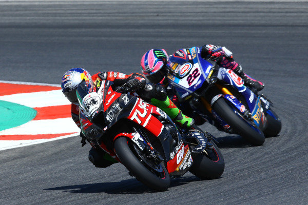 Toprak Razgatlioglu, Turkish Puccetti Racing, Alex Lowes, Pata Yamaha.