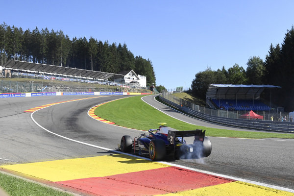 SPA-FRANCORCHAMPS, BELGIUM - AUGUST 30: Ralph Boschung (CHE, TRIDENT) during the Spa-Francorchamps at Spa-Francorchamps on August 30, 2019 in Spa-Francorchamps, Belgium. (Photo by Gareth Harford / LAT Images / FIA F2 Championship)