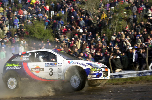 2001 World Rally Championship. Argentina