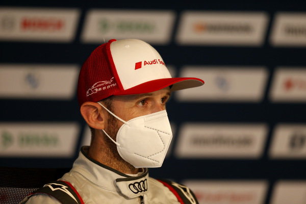 Press Conference, René Rast, Audi Sport Team Rosberg.