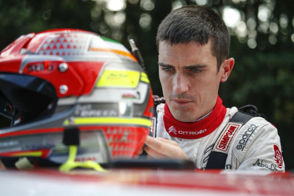 Craig Breen readies himself for the challenge that is Rally Finland