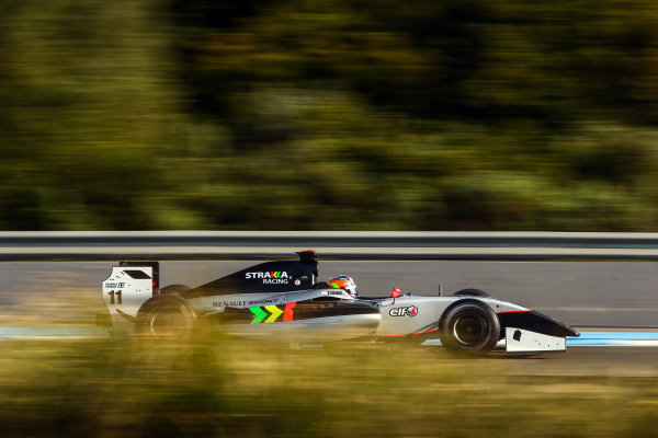 JEREZ (ESP) MRT 4-6 2015 - First collective test of the World Series by Renault 2015 at Circuito Permanente de Jerez. Tio Elinas #11 Strakka Racing. Action. © 2015 Diederik van der Laan  / Dutch Photo Agency / LAT Photographic