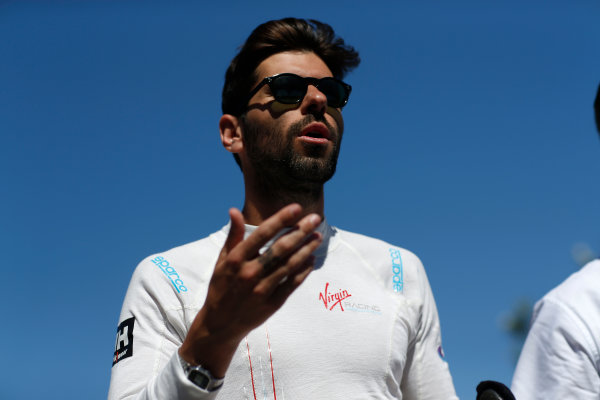 2014/2015 FIA Formula E Championship. Jaime Alguersuari (SPA)/Virging Racing - Spark-Renault SRT_01E  Long Beach ePrix, Long Beach, California, United States of America. Saturday 4 April 2015  Photo: Adam Warner/LAT/FE ref: Digital Image _L5R7031