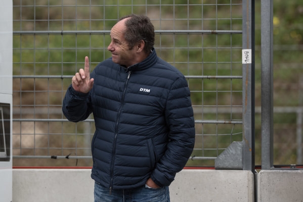 2017 DTM Round 6  Circuit Zandvoort, Zandvoort, Netherlands Saturday 19 August 2017 Gerhard Berger, ITR Chairman World Copyright: Mario Bartkowiak/LAT Images ref: Digital Image 2017-08-19_DTM_Zandvoort_Q1_0109