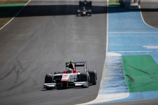 2017 FIA Formula 2 Round 10. Circuito de Jerez, Jerez, Spain. Sunday 8 October 2017. Alex Palou (JPN, Campos Racing).  Photo: Andrew Ferraro/FIA Formula 2. ref: Digital Image _FER3376