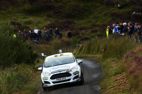 2017 British Rally Championship, Ulster Rally, Londonderry. 18th - 19th August 2017. James Williams / Dai Roberts Ford Fiesta World Copyright: JEP/LAT Images.