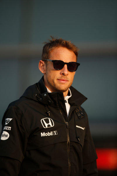 Shanghai International Circuit, Shanghai, China. Friday 10 April 2015. Jenson Button, McLaren. World Copyright: Glenn Dunbar/LAT Photographic. ref: Digital Image _W2Q3044