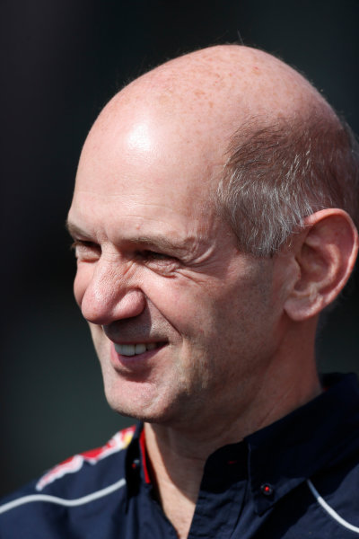Nurburgring, Germany 6th July 2013 Adrian Newey, Chief Technical Officer, Red Bull Racing World Copyright: Charles Coates/  ref: Digital Image _N7T1144