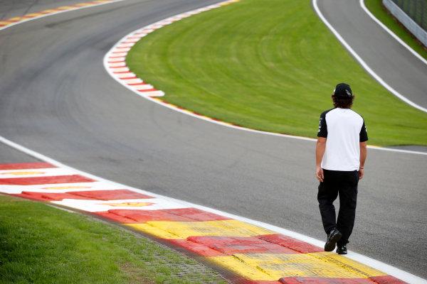 Spa-Francorchamps, Spa, Belgium. Thursday 20 August 2015. Fernando Alonso, McLaren. World Copyright: Steven Tee/LAT Photographic ref: Digital Image _L4R9201