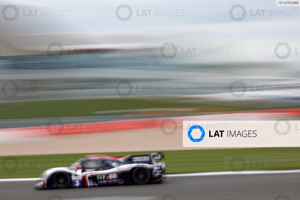 2017 European LeMans Series, Silverstone, 13th-15th April 2017, Mark Patterson (USA) / Wayne Boyd (GBR) / Christian England (GBR) - UNITED AUTOSPORTS - Ligier JS P3 ? Nissan World Copyright. JEP/LAT Images