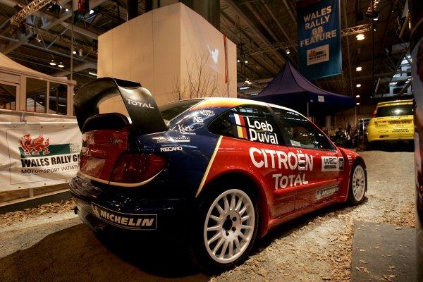 2006 Autosport InternationalBirmingham NEC, Sunday 15th January 2006.Citroen Xsara WRC at the Wales Rally GB Stand.World Copyright: Andrew Ferraro/LAT Photographicref: Digital Image Only