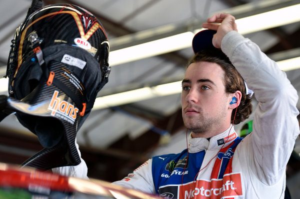 Monster Energy NASCAR Cup Series Toyota/Save Mart 350 Sonoma Raceway, Sonoma, CA USA Friday 23 June 2017 Ryan Blaney, Wood Brothers Racing, Motorcraft/Quick Lane Tire & Auto Center Ford Fusion World Copyright: Nigel Kinrade LAT Images