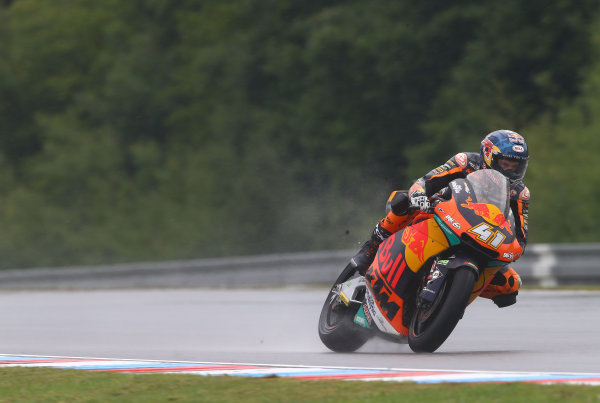 2017 Moto2 Championship - Round 10 Brno, Czech Republic Friday 4 August 2017 Brad Binder, Red Bull KTM Ajo World Copyright: Gold and Goose / LAT Images ref: Digital Image 683674