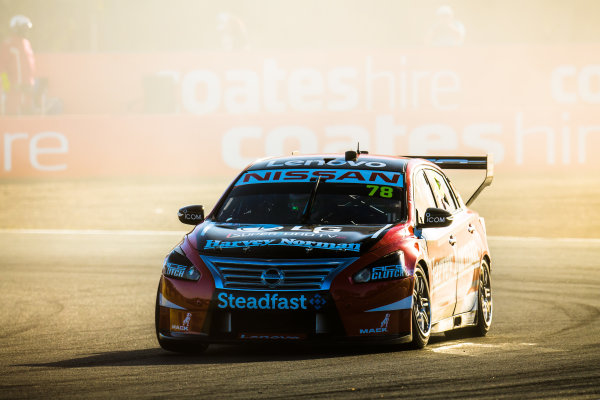 2017 Supercars Championship Round 8.  Ipswich SuperSprint, Queensland Raceway, Queensland, Australia. Friday 28th July to Sunday 30th July 2017. Simona de Silvestro, Nissan Motorsport.  World Copyright: Daniel Kalisz/ LAT Images Ref: Digital Image 280717_VASCR8_DKIMG_8074.jpg