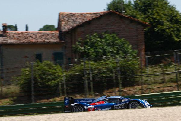 Imola, Italy. 1st - 3rd July 2011Anthony Davidson (GBR), Sébastien Bourdais (FRA), Peugeot 908, PEUGEOT SPORT TOTALWorld Copyright: dailysportscar/LAT Photographic