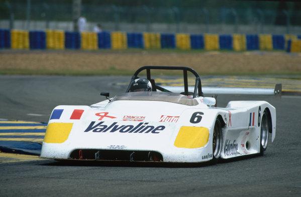 1995 Le Mans 24 Hours. Le Mans, France. 17th - 18th June 1995. Dominique Lacaud (Norma M14), DNQ, action.  World Copyright: LAT Photographic. Ref:  95LM41