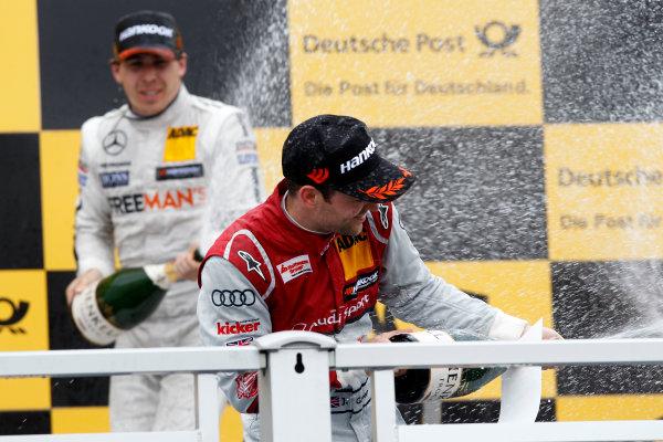 2014 DTM Championship Round 4 - Norisring, Germany 27th - 29th June 2014  Podium, Jamie Green (GBR) Audi Sport Team Abt Sportsline Audi RS 5 DTM World Copyright: XPB Images / LAT Photographic  ref: Digital Image 3190672_HiRes