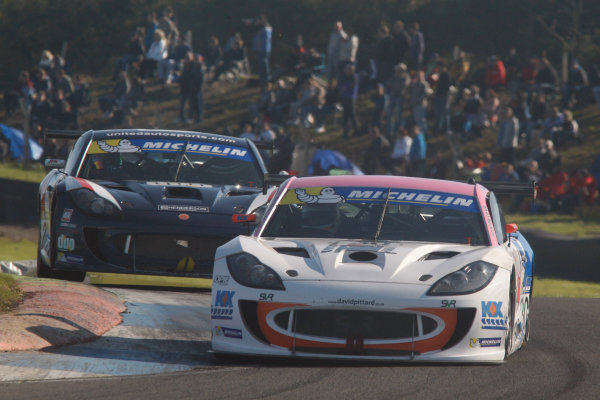 2014 Ginetta GT4 Supercup,  Knockhill, 23-24 August 2014, David Pittard (GBR) SV Racing World copyright: Jakob Ebrey/LAT Photographic