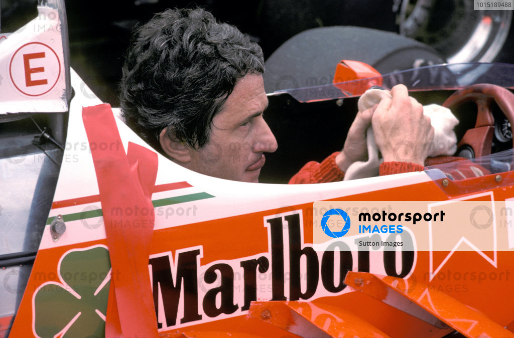 Patrick Depailler (FRA) Alfa Romeo. Brazilian Grand Prix, Rd2, Interlagos, Brazil. 27 January 1980BEST IMAGE