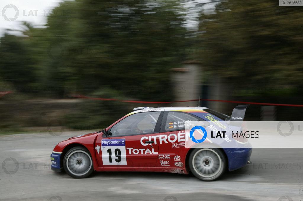 2003 FIA World Rally Champs. Round Twelve Corsica Rally