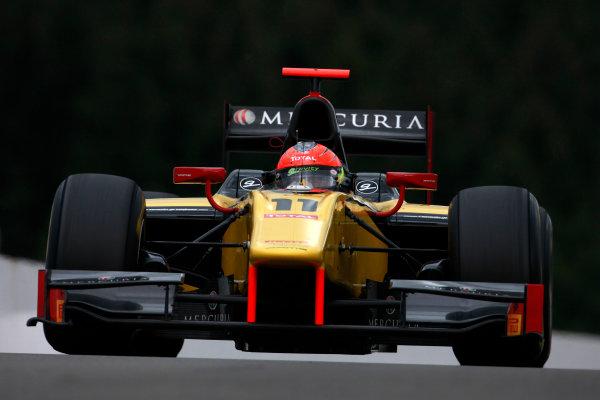Spa - Francorchamps, Spa, Belgium. 26th August. Friday Practice. Romain Grosjean (FRA, Dams). Action. Photo: Alastair Staley/GP2 Media Service. Ref: AS5D3298 jpg